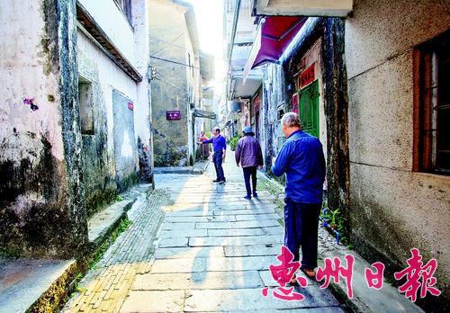 淡水老街。本组文/图摘自《惠州名迹荟萃》