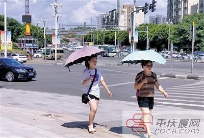 坚持到周四雨水就来降温了 最高温降至36℃
