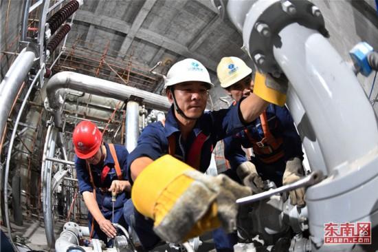 福建省重点建设项目池潭水电厂扩建工程投产