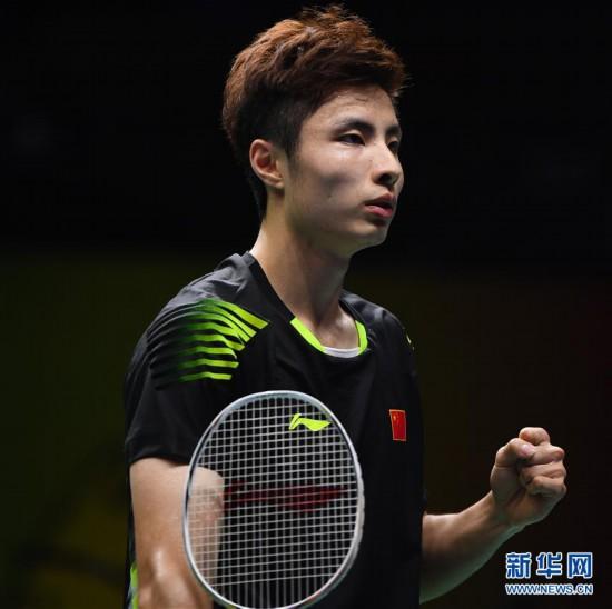 (体育)(2)羽毛球――世锦赛:石宇奇晋级