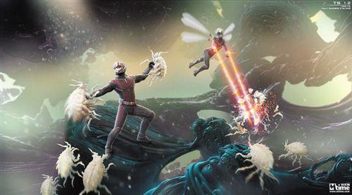 《蚁人2》曝光原始概念设计图