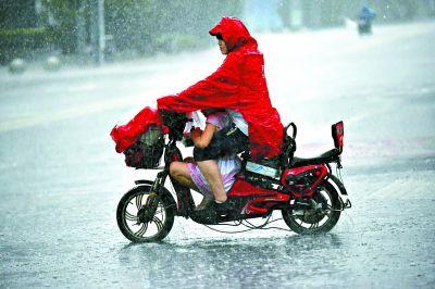 """9天""""桑拿""""结束!北京本周天天有雨 白天最高气温30℃出头"""