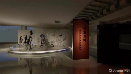 """""""回望归鸿""""徐悲鸿抗战时期作品展(三峡博物馆)"""