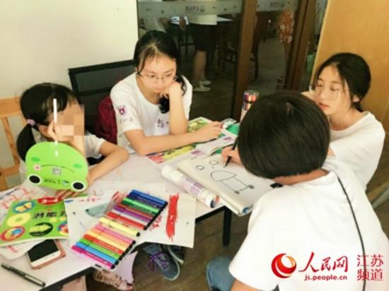 """南京大学志愿者探索""""AS儿童""""新型教育模式"""