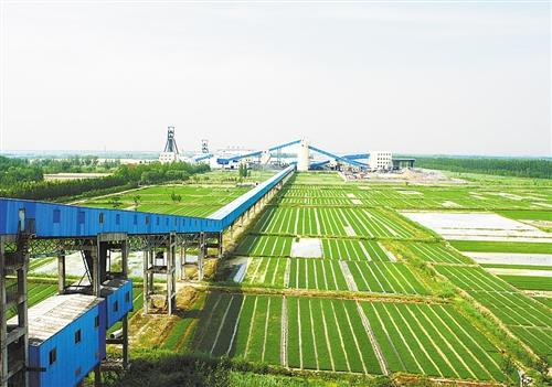 山东能源王楼煤矿智能化打造绿色矿山 披挂