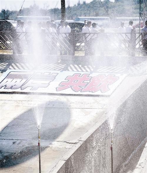 福建正式向金门供水 总投资3.88亿元