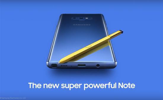三星欲借Note 9新款S Pen击败苹果 重返巅峰