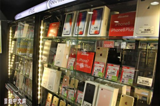 iPhone 6s连续4个月居日本二手手机交易额首位