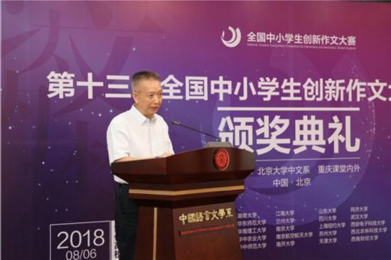 2、北京大学中文系系主任、教育部长江学者陈晓明教授.jpg