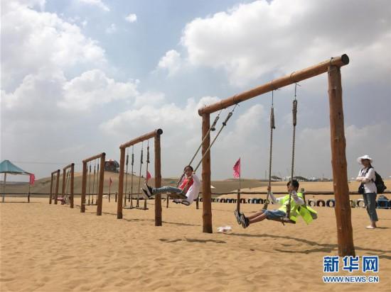 (新华全媒头条・在习近平新时代中国特色社会主义思想指引下――新时代新作为新篇章・图文互动)(11)绿富同兴画卷在沙海中铺展――库布其沙漠生态治理纪实