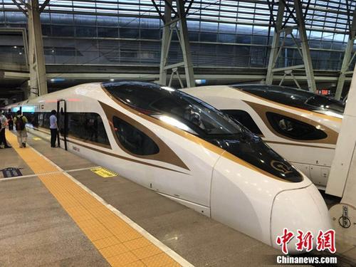 京津城际时速350公里开跑北京到天津仅需30分钟