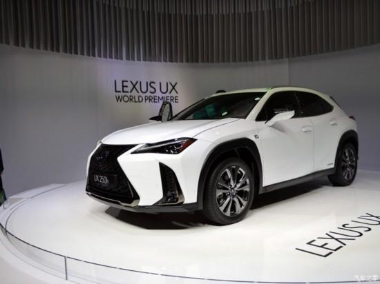 雷克萨斯新SUV UX将于成都车展国内首发