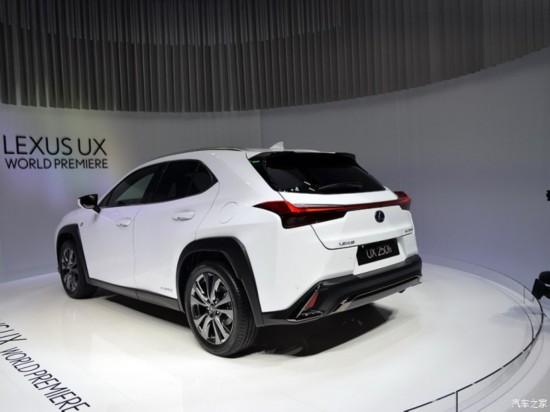 雷克萨斯 雷克萨斯UX 2019款 250h F SPORT