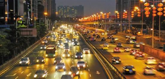 深圳三年内机动车交通守法率将达95%