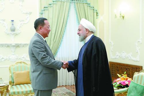伊朗总统告诫朝鲜外相:美国根本不可靠不守信