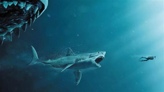 科幻冒险大片《巨齿鲨》来袭 斯坦森李冰冰并肩作战