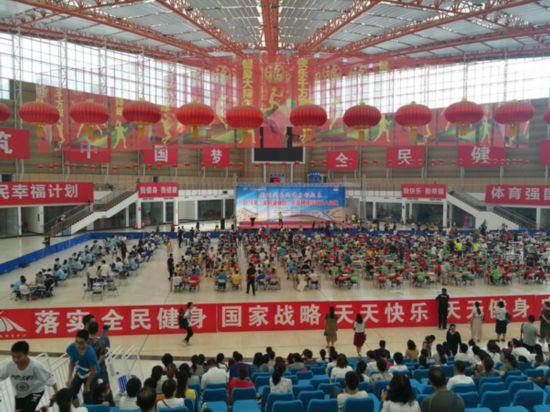 """2018""""全民健身日""""宁夏千余棋牌高手比拼"""