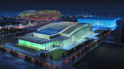 水立方将变冰立方!泳池上架冰面 国家体育馆变冰球赛场