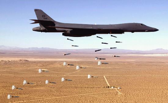 """美媒建议美军用B-1B轰炸机""""炸灭""""加州大火"""