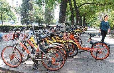 共享单车:投放多,坏得快 废旧车回收拷问各方智慧