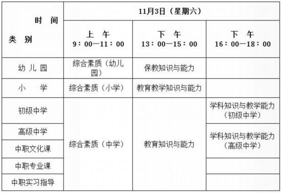 下半年陕西中小学教师资格考试笔试9月4日起