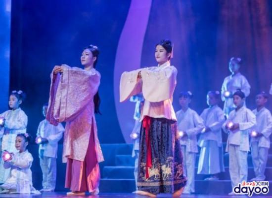 广州乞巧文化节开幕 原创思乡爱国情景剧登上舞台