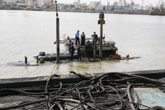 印度潜艇兵缺乏损管消防训练 潜艇部队事故重重