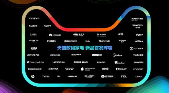 天猫宣布:下半年将首发60万款数码家电新品