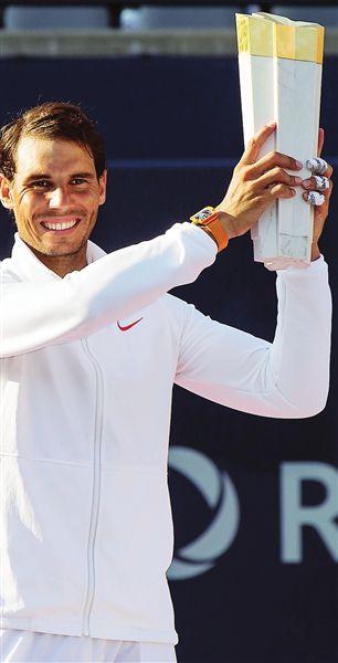 纳达尔收获职业生涯第80冠