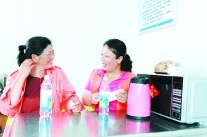 淮安淮阴建成20个环卫工人休息室和爱心互助点