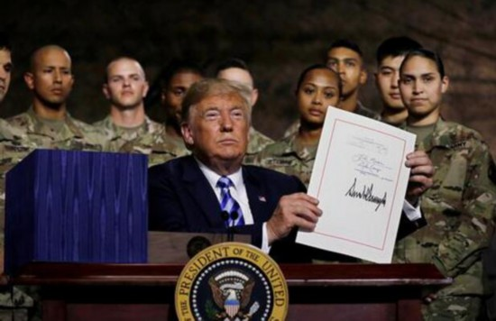 含涉华消极条款:中国三部门批驳美国防授权法案