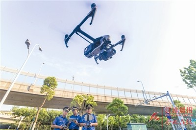 """无人机加盟 合肥有了""""空中城管"""""""