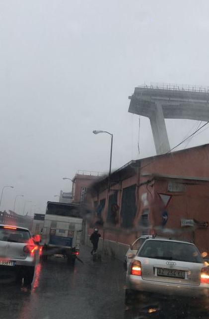 意大利高架桥坍塌 交通部官员:至少35死 死亡人数会上升