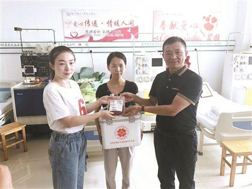 15日徐州沛县两青年同时捐献造血干细胞
