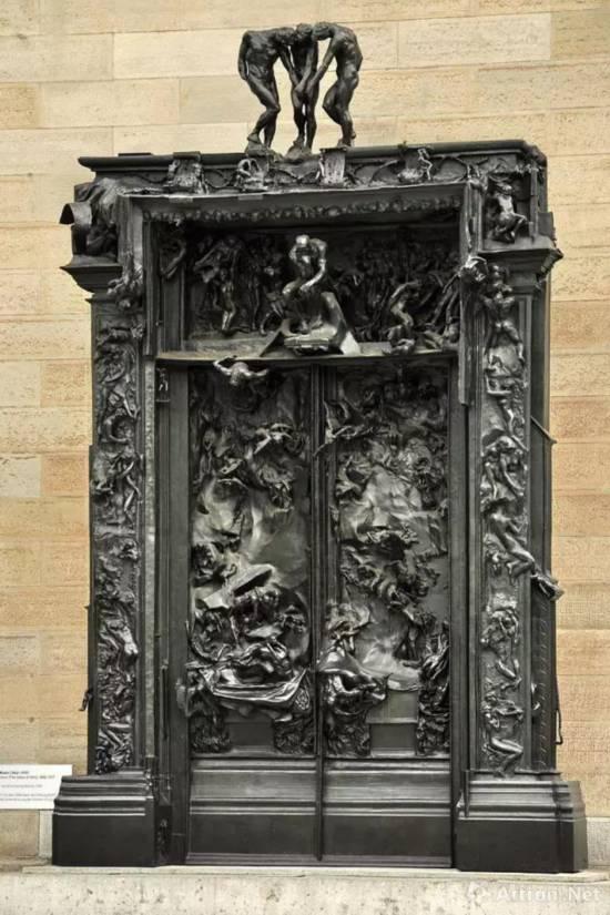 地狱之门,苏黎世美术馆