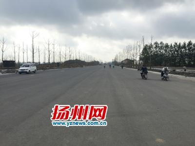 扬州扬冶路真州路将通车 改造后将成景观大道