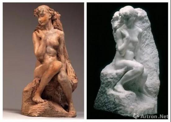 左:《Jeune fille  la gerbe