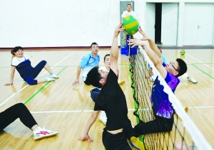 淮安市残疾人运动员加紧训练 备战残运会