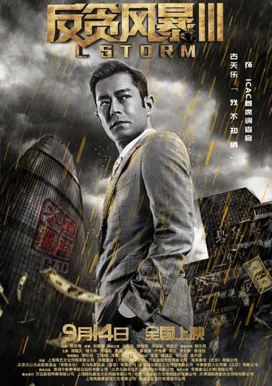 《反贪风暴3》角色海报暗藏玄机道破人物命运