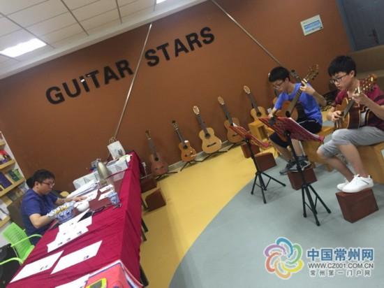 """暑期常州近2万名孩子忙音乐考级 吉他成""""新宠"""""""
