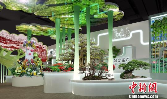 2019北京世园会广东展园开工建设