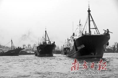 伏季休渔结束广东多地渔港举办开渔节