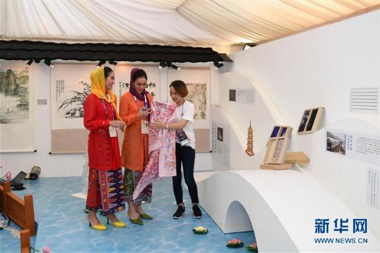 (亚运会)(2)亚运杭州主题展亮相雅加达