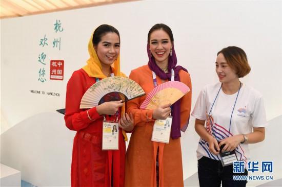 (亚运会)(4)亚运杭州主题展亮相雅加达