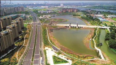 南通白龙湖公园已完成总造价95% 年底对外开放