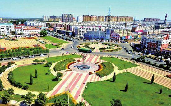 通榆县加强城市建设 创造良好的生活环境