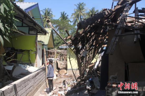3级地震 震源深度7.9公里巴厘岛有震感