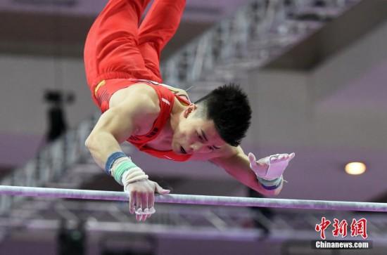 组图:亚运会林超攀夺体操男子个人全能金牌