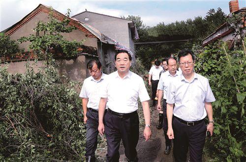 周铁根到丰县指导救灾:打好灾后重建攻坚战