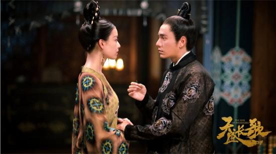 《天盛长歌》剧情高潮迭起 陈坤倪妮挚爱灼心